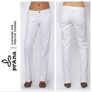 PRANA white JADA jeans Size 8/29
